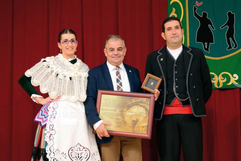 2013_Jesús Francisco presidente de FEDEFOLKCM