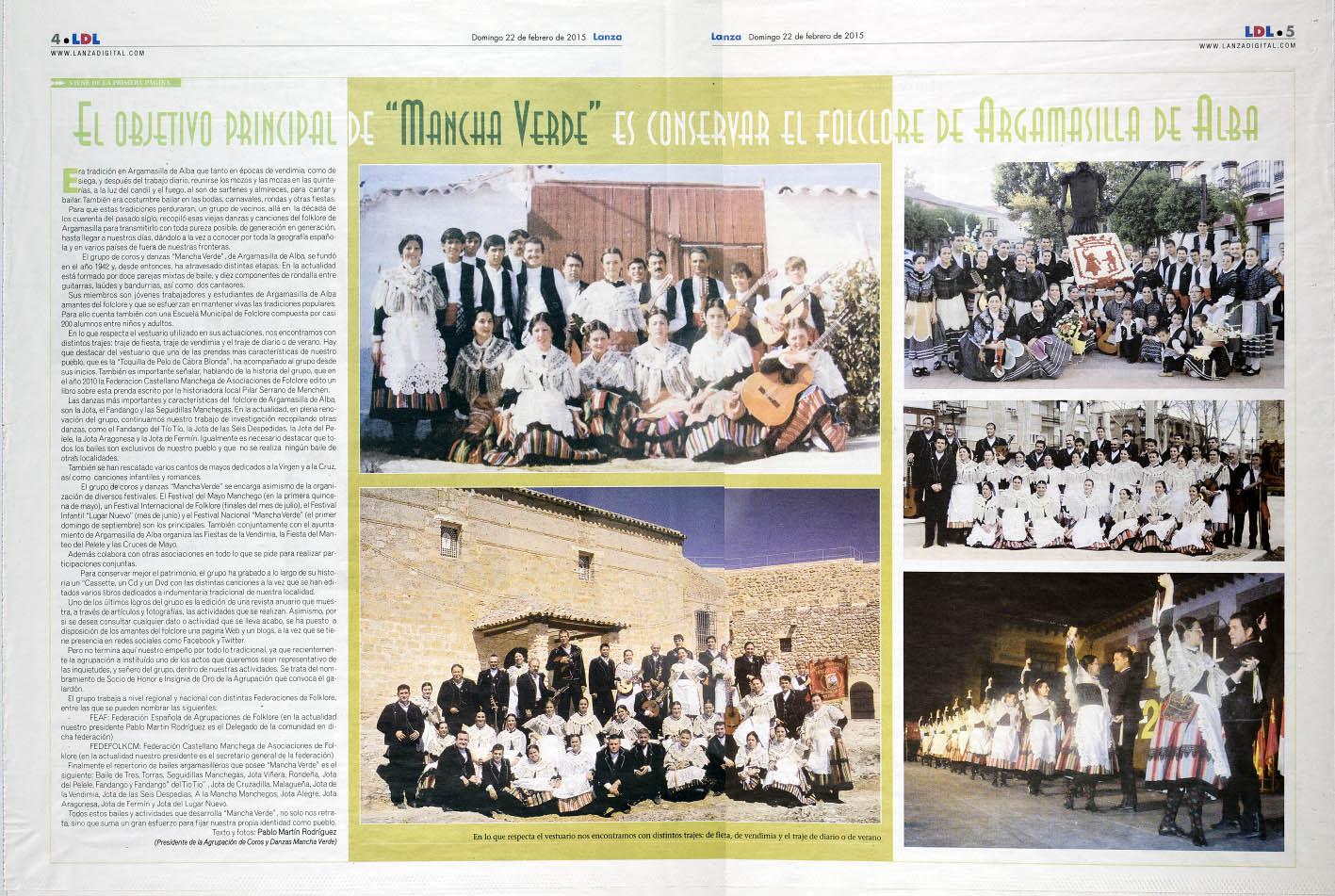 Prensa_Mancha Verde02_Dominical Lanza