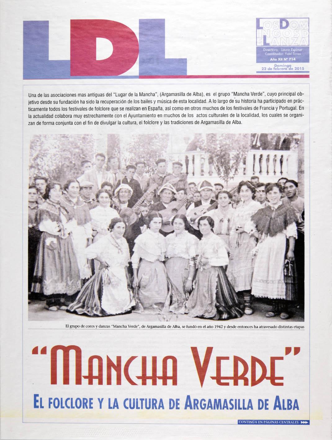 Prensa_Mancha Verde_Dominical Lanza