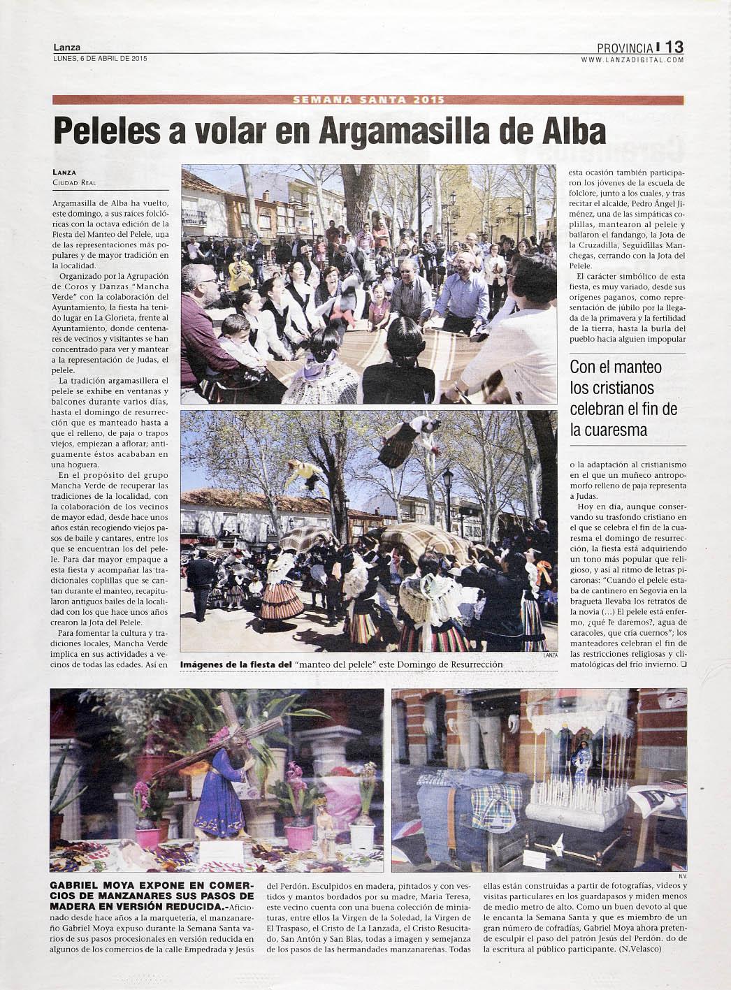Prensa_Manteo del Pelele_Lanza