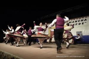 "XXXVI Festival de Floklore ""Mancha Verde"" de Argamasilla de"