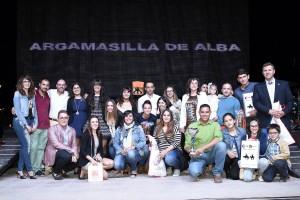 Mancha Verde en la entrega del primer premio del Concurso de Peñas