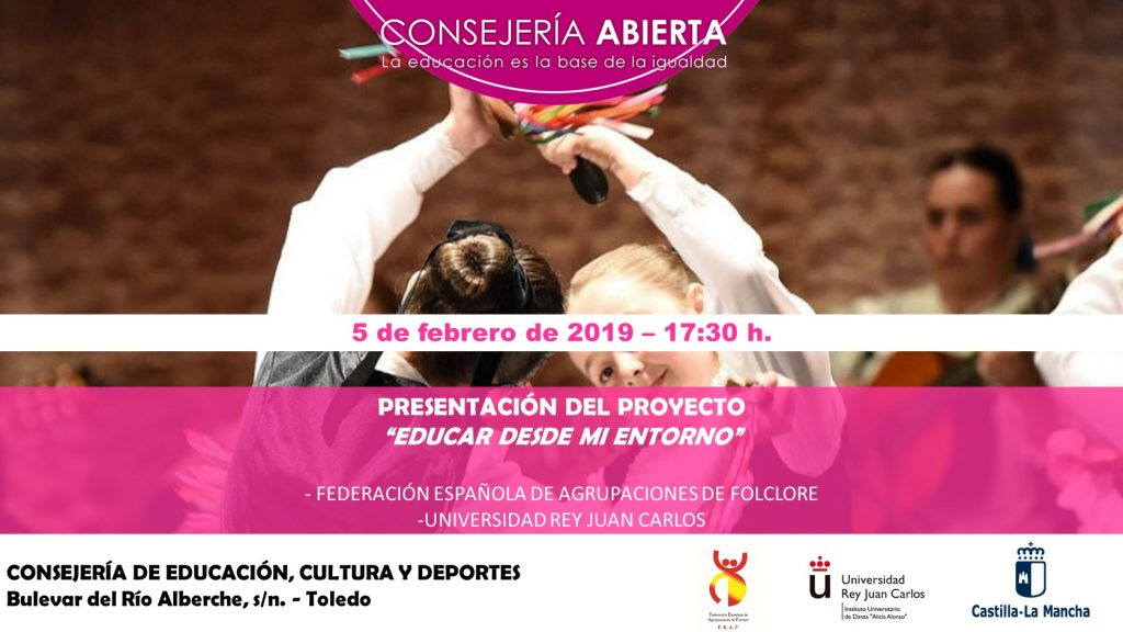 Invitación Consejería Abierta- Educar desde mi entorno